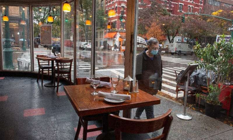 Bars and clubs in the Big Apple, the epicentre of the US's spring outbreak, were ordered to close at 10 pm