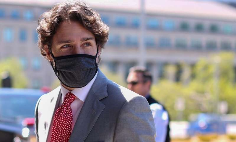 Prime Minister Justin Trudeau urged Canadians to continue to take precautions including social distancing and wearing masks, and