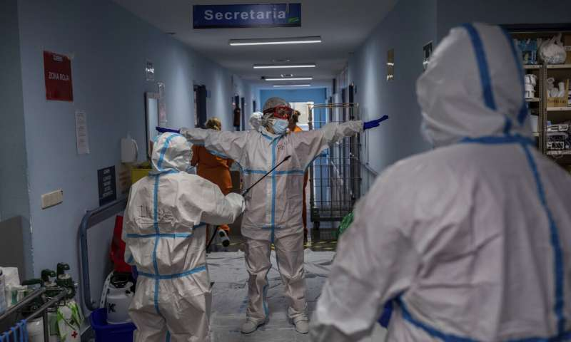 As virus spikes, Europe runs low on ICU beds, hospital staff