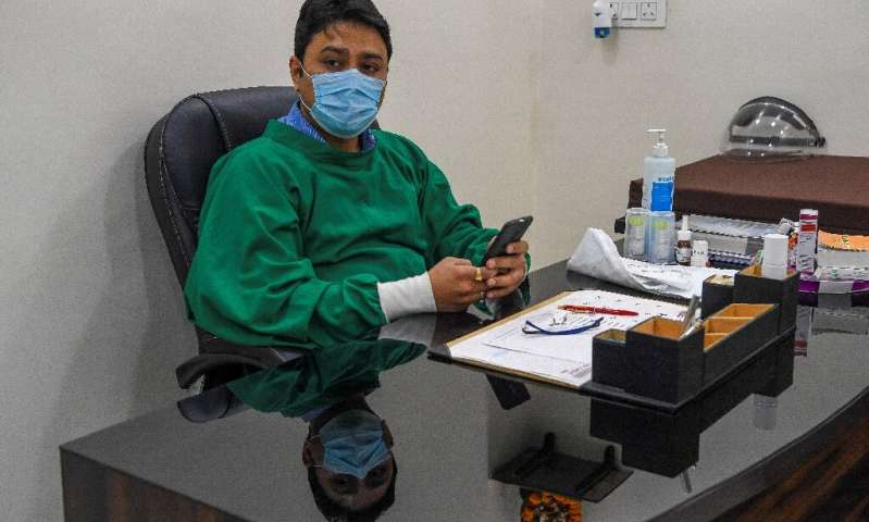 Davinder Kundra is among a growing number of doctors who are worried as New Delhi's notorious air again hits peak pollution leve