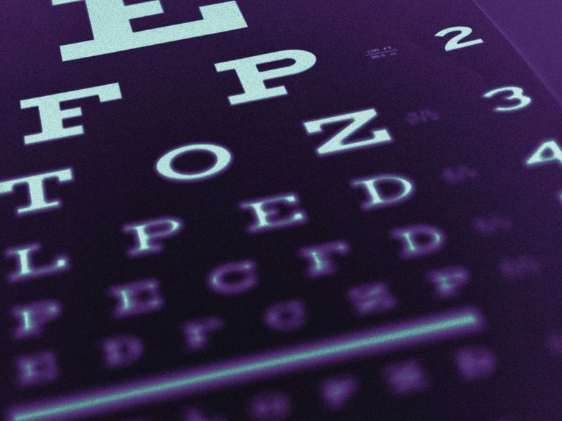 News Picture: Vision Impairment Tied to Lower Use of Preventive Services