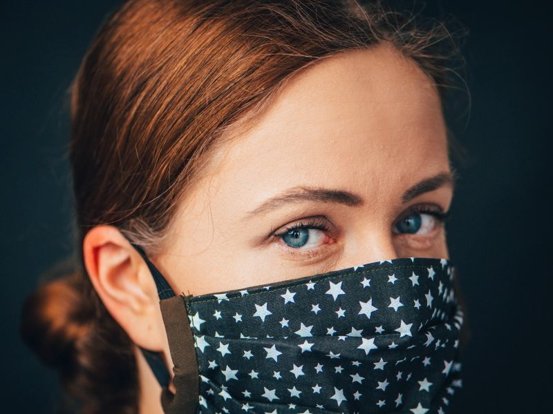 News Picture: Face Masks Won't Hamper Your Workout, Study Says