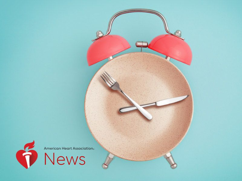 News Picture: AHA News: Inconsistent Mealtimes Linked to Heart Risks