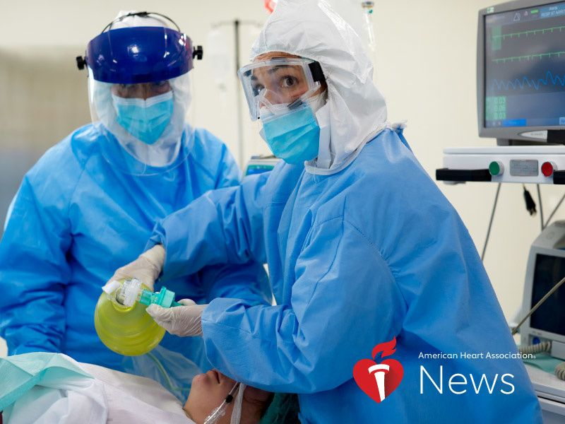 News Picture: AHA News: COVID-19 Patients of All Ages With Obesity Face Higher Risk of Complications, Death