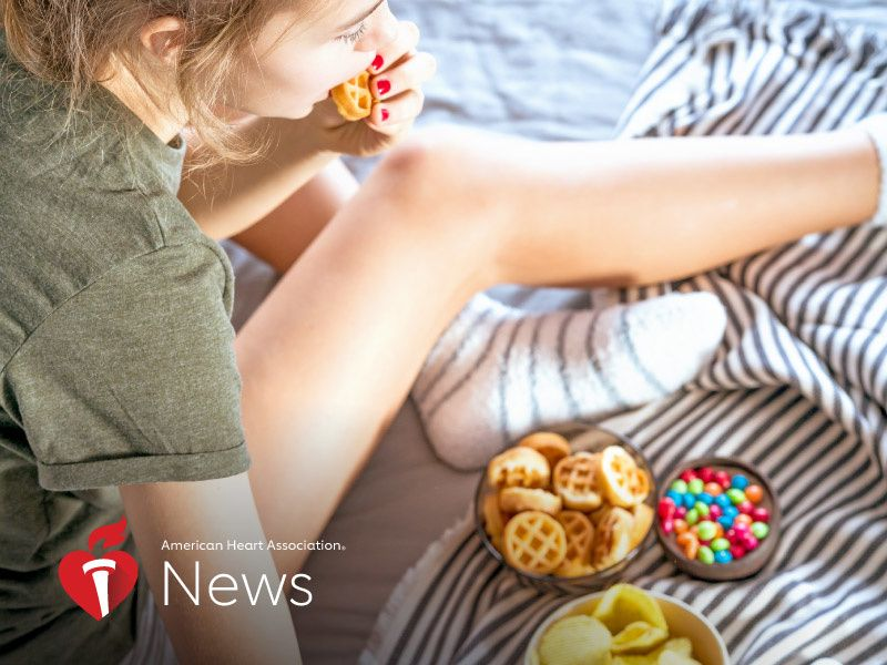 News Picture: AHA News: Teens' Ultra-Processed Diet Puts Their Hearts at Risk