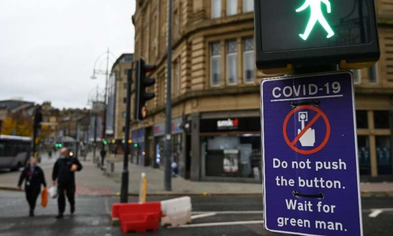 Pedestrians in the northern English town of Bradford are asked to not even press the button at a pedestrain crossing, for fear o