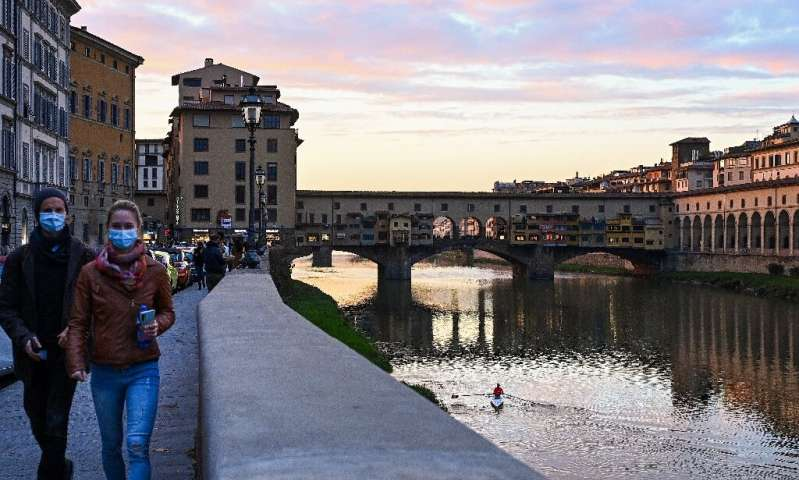 The Italy region of Tuscany is just one part of Europe that will see new anti-coronavirus restrictions