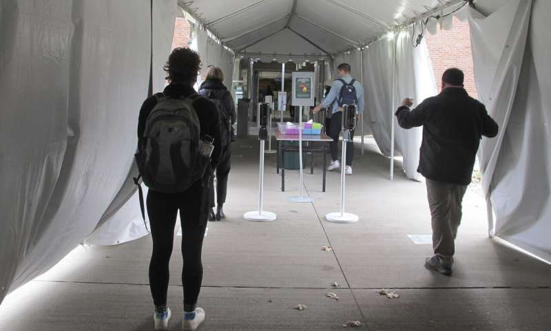 US colleges mull new virus protocols for students' return