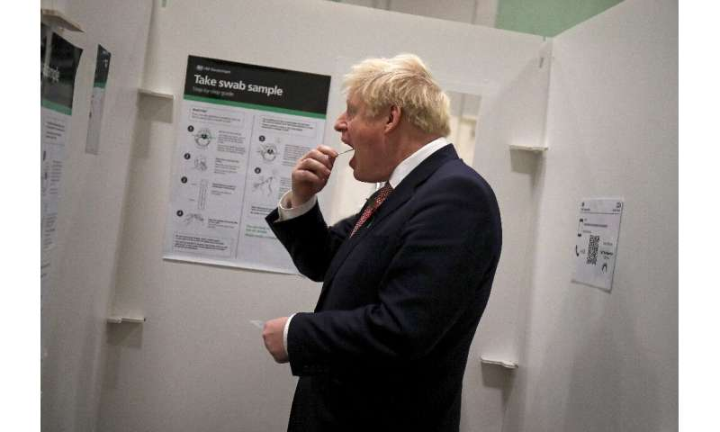 British Prime Minister Boris Johnson has announced a new 'stay at home' order for London and southeast England