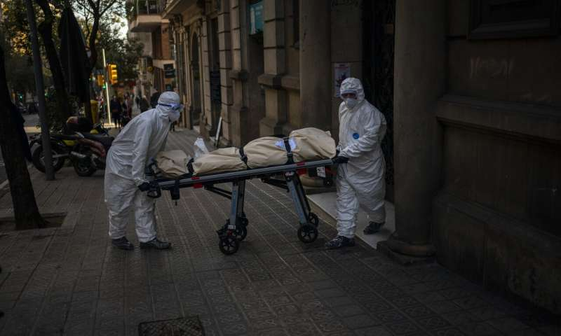 Europe battles surge in coronavirus deaths in nursing homes