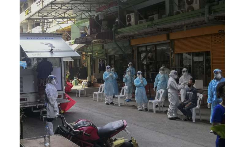 After months of calm, Thailand challenged by virus outbreak