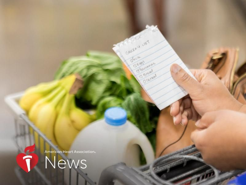 News Picture: AHA News: Food Insecurity Rates High Among People With Heart Disease