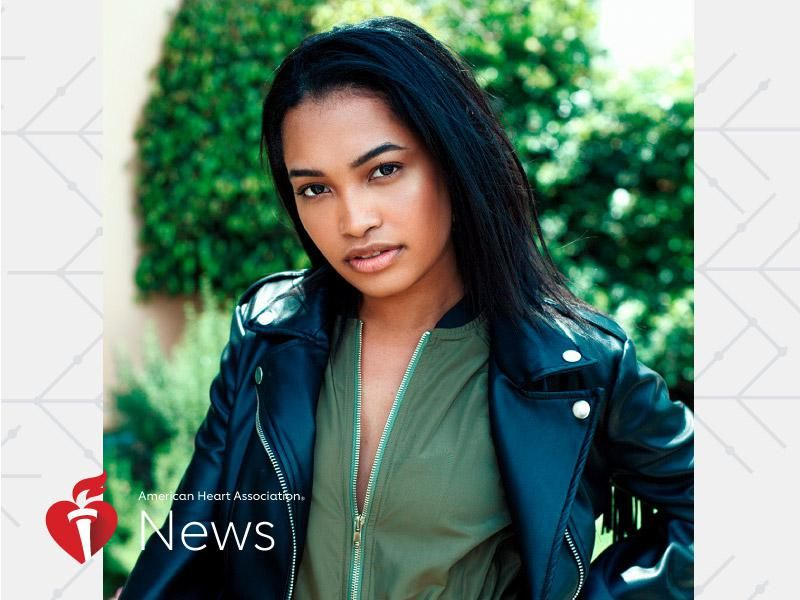 News Picture: AHA News: After 3 Strokes, This Young Pop and R&B Singer Is at Work Again