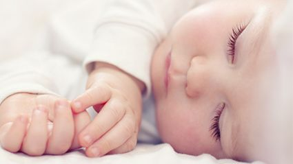 News Picture: Parents, Don't Worry if Baby's Sleep Is Erratic