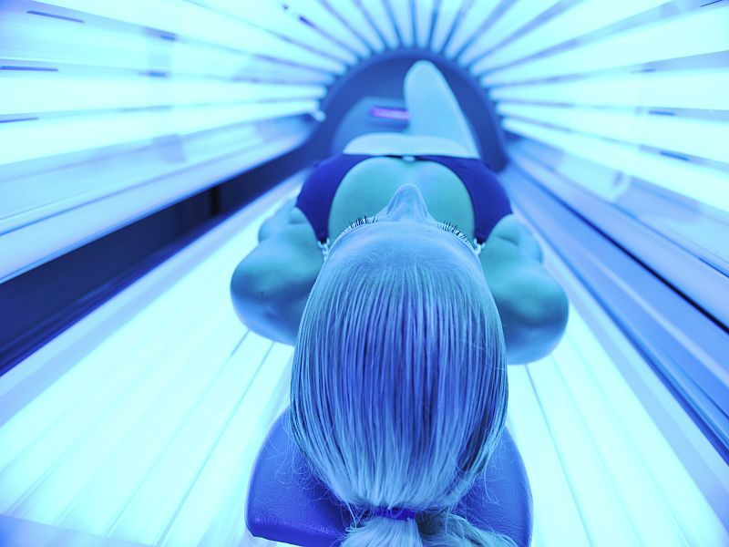 News Picture: Could Tanning Raise a Woman's Odds for Endometriosis?