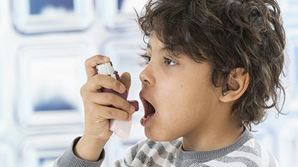 News Picture: Lockdowns May Be Keeping Kids' Asthma Attacks at Bay: Study