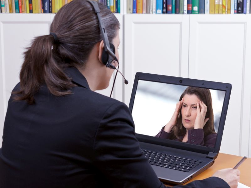 News Picture: Working at Home Brings Its Own Health Perils: Survey