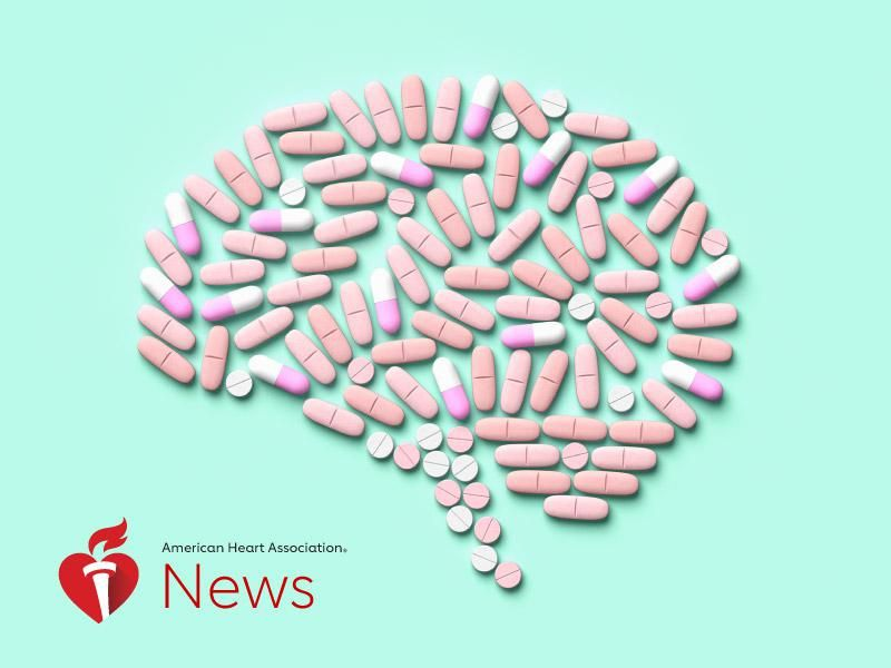 News Picture: AHA News: Certain Antidepressants Might Increase Stroke Risk for Young Adults With PTSD