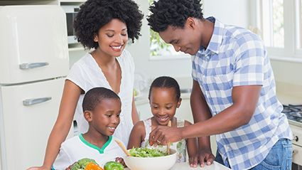 News Picture: Could Going Vegetarian Lower Kids' Asthma Risk?