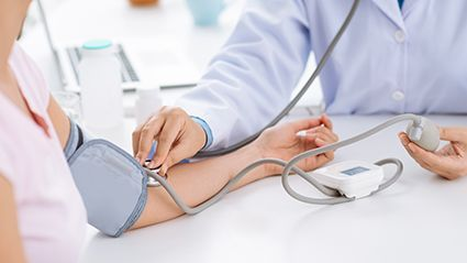 News Picture: Blood Pressure Often Differs Widely Between Two Arms: Study