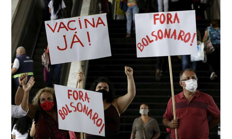 Brazil scrambles to approve virus vaccine as pressure mounts
