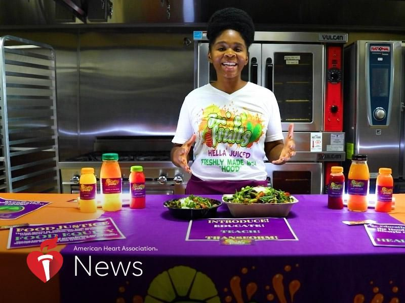 News Picture: AHA News: To Battle Food Inequity, a Nonprofit Helps Neighbors Eat Healthy