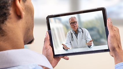 News Picture: Some Americans Can't Access Telemedicine, Study Shows