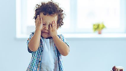 News Picture: Toddler Tantrums? Pediatricians Offer Tips to Curb Bad Behavior