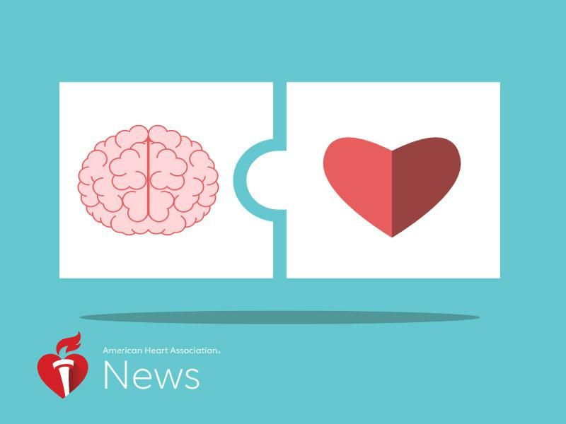 News Picture: AHA News: The Head Is Connected to the Heart – and Can Influence Health