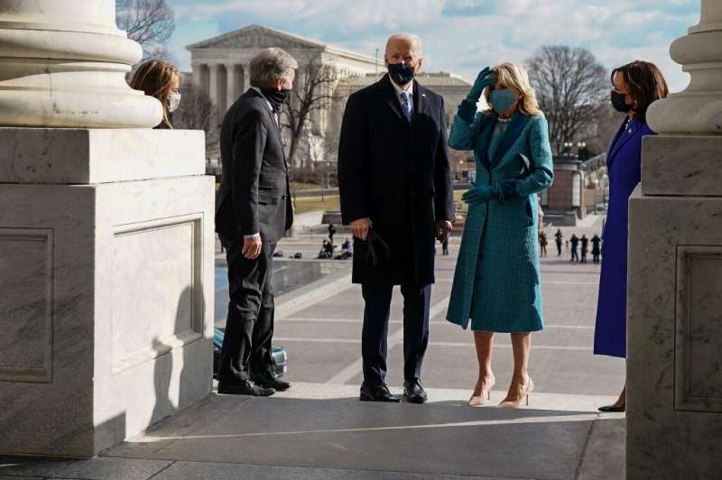 New US President Joe Biden warned at his socially distanced inauguration that the world was entering