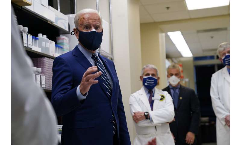 Biden says US is securing 600 million vaccine doses by July