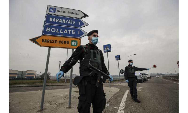 Italy's Lombardy again in virus crisis as Brescia sees surge