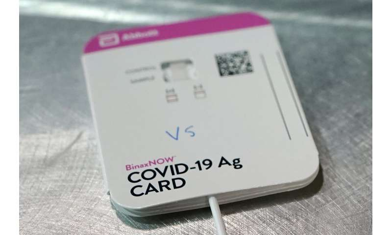 Plunging demand for COVID-19 tests may leave US exposed
