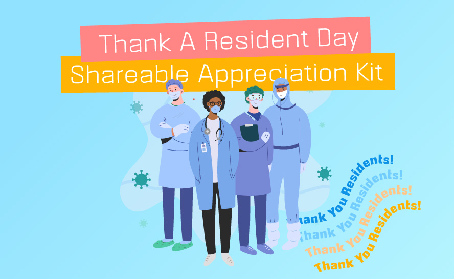 Thank A Resident Sharable Appreciation Kit