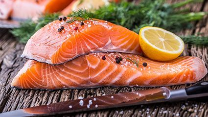 News Picture: Omega-3s From Fish Might Curb Asthma in Kids, But Genes Matter