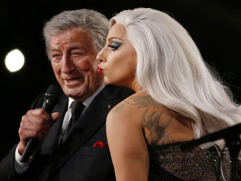 News Picture: Tony Bennett's Struggle With Alzheimer's Revealed