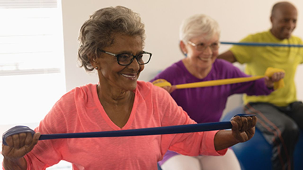 News Picture: Even Low-Intensity Exercise Can Help During Cancer Treatments