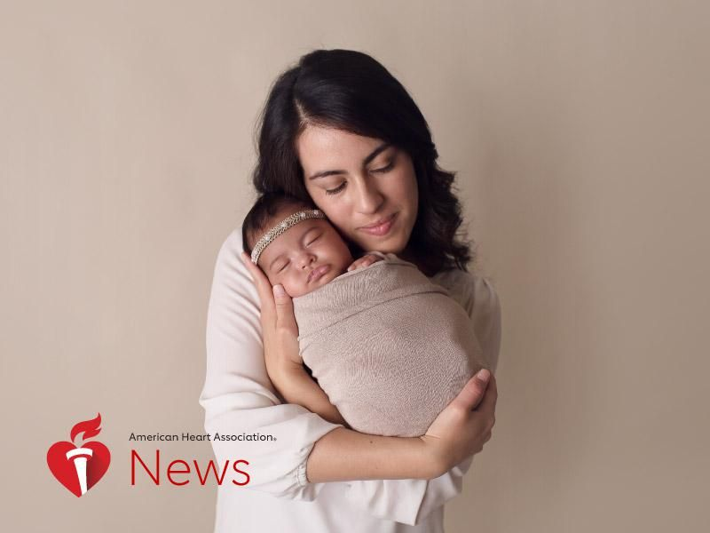 News Picture: AHA News: 33 Weeks Pregnant, an Emergency Delivery and Heart Failure