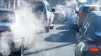News Picture: Drivers May Be Inhaling Dangerous Carcinogens Inside Their Cars