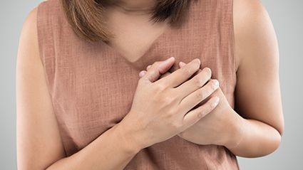 News Picture: Panic Attack or Heart Attack? Here's How to Tell the Difference