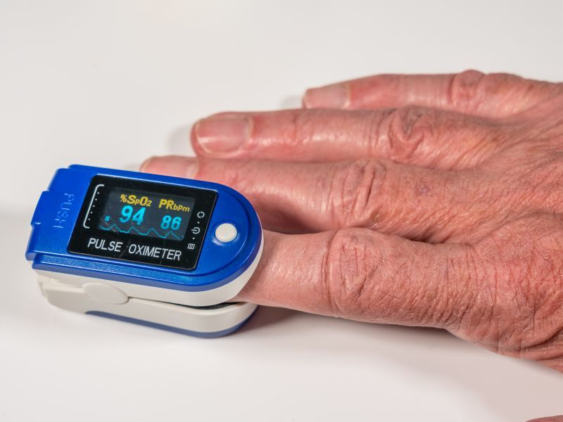 News Picture: Used to Gauge COVID Severity, Pulse Oximeters Can Be Inaccurate on Darker Skin