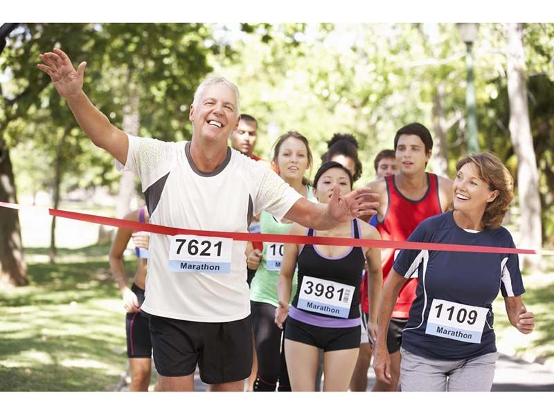 News Picture: Guys, Exercise Will Boost Your Aging Hearts, Testosterone Won't: Study