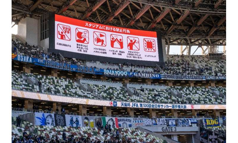 Virus safety rules are already in place in Japan for major sports events