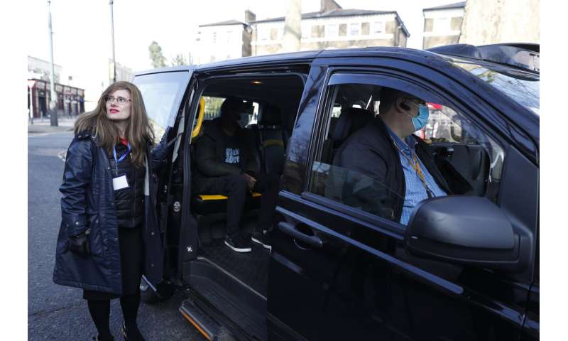 Vaxi Taxi targets vaccine anxiety as UK minority uptake lags