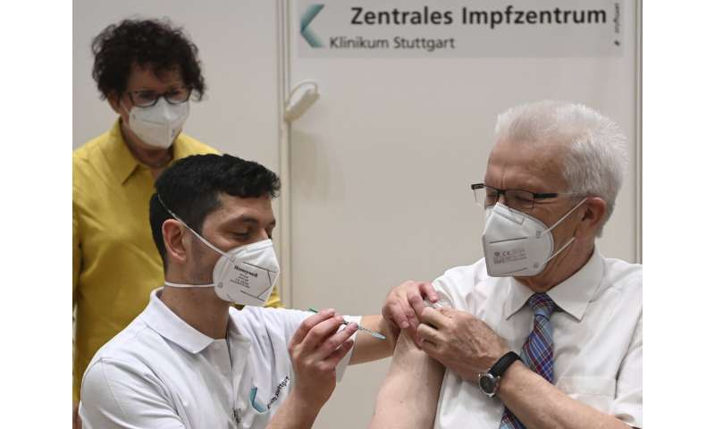 AstraZeneca vaccinations resume in Europe after clot scare