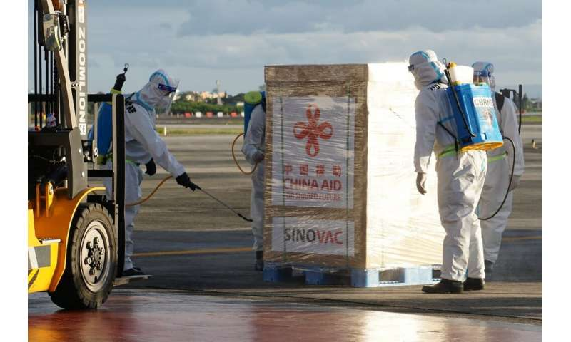 China has committed to shipping vaccines overseas as it works to blunt foreign criticism of the initial spread of the virus from