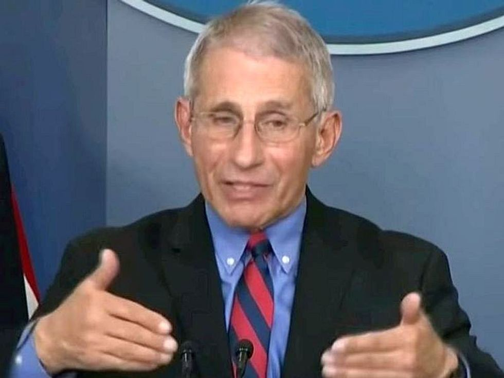 News Picture: Fauci Says U.S. Will Stay With Two Doses of Pfizer, Moderna Vaccines