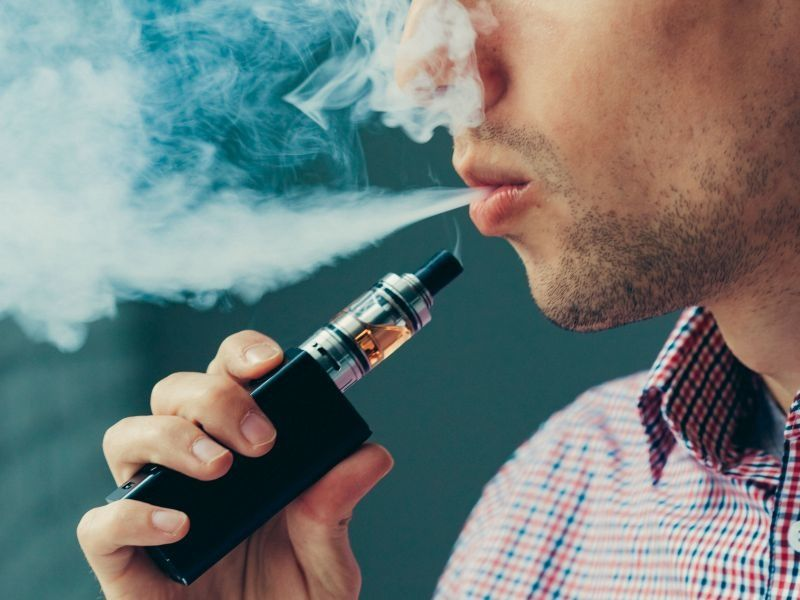News Picture: Vaping Pot Worse Than Vaping Tobacco for Teens' Lungs: Study