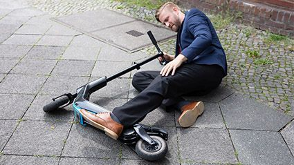 News Picture: Perils of the Pandemic: Scooters, Cleansers and Button Batteries