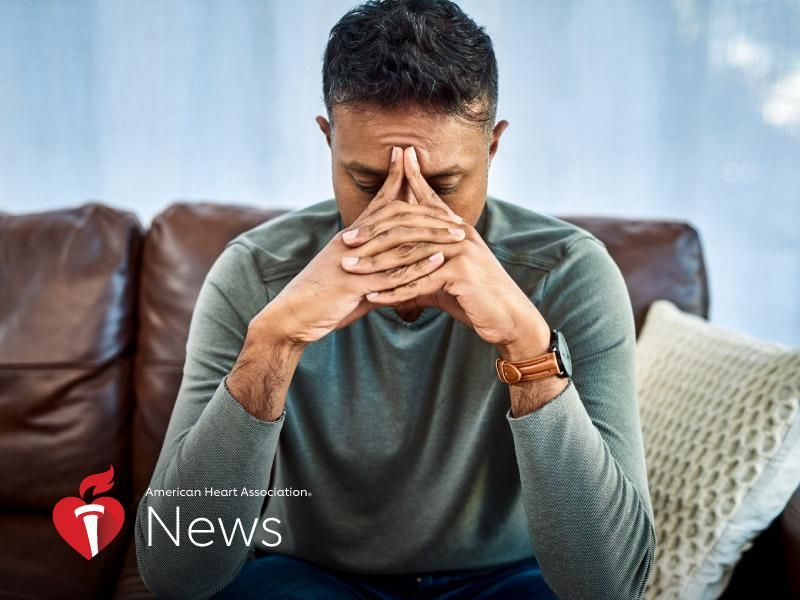 News Picture: AHA News: How Grief Rewires the Brain and Can Affect Health – and What to Do About It